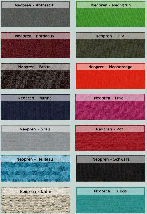 Neopren Farben